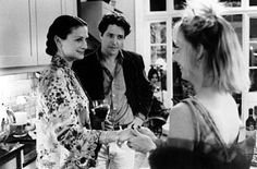 Julia Roberts , Hugh Grant and Emma Chambers in Universal's Notting Hill