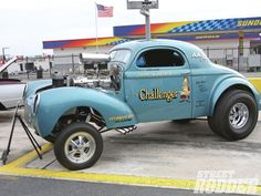 1941 Willys Dragster   1941 Willys Coupe hot rod rods retro drag race racing engine r ...