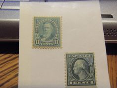 2 MINT OLDIES-1916-22 # 490 1 CT WASHINGTON MINT,OG & 1922-26 #563 11 CT HAYES MINT, OG