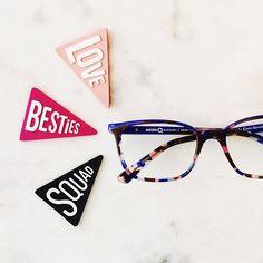 Our glasses love to chant: #love #besties #squad. Repeat.#weloveeyes #drtanyagill  www.oaklandvisioncenter.com  We Love Eyes ™  1960 Broadway Oakland CA 94612  510-893-5566  #glasses #oakland #oaklandvisioncenter #oaklandoptometrist #eyeglasses #optometrist #optical #oaktown #squadgoals #etniabarcelona @etniabarcelona