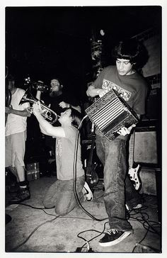 Neutral Milk Hotel (15 April 1998 @ Satyricon, Portland--photo by Jason McQuilliams)