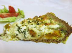 Kürbis-Quiche mit Feta Mini Quiches, Food Porn, Lasagna, Baked Potato, Squash, Feta, Baking, Breakfast, Ethnic Recipes