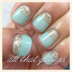 harmony gelish gel manicure nailed it   Nail gel manicure