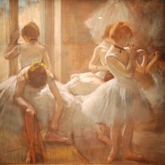 Impressionist Art: Edgar Degas - Dancers Musee d'Orsay