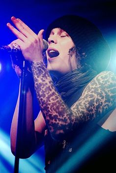 Ville Valo of HIM.