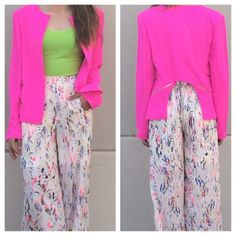 We love this entire outfit!! The blazer is a spring must have!