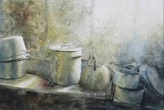 Watercolor Journal, Watercolor Artists, Watercolor Landscape, Watercolor Paintings, Watercolours, Oil Paintings, Art Pictures, Art Images, Photos