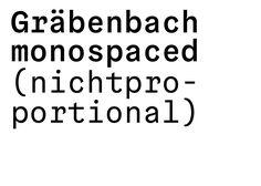 Gräbenbach Grotesk by wolfgang schwaerzler