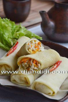 Diah Didi's Kitchen: Lumpia Basah Jagung Isi Tahu & Sayuran