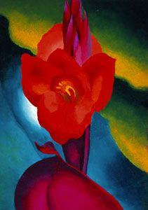 Discover Georgia O'Keefe at San Diego Museum of Art - DiscoverSD.com #flowershop