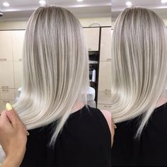 Icy blonde color for August - Blonde Ice Blonde Hair, Blonde Hair Makeup, Icy Blonde, Platinum Blonde Hair, Blonde Color, Blonde Balayage, Hair Color, Grey Hair Treatment, Silver Blonde