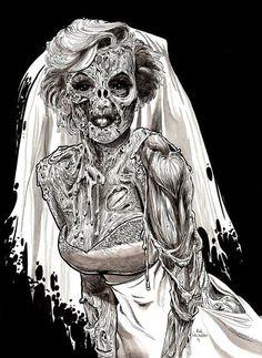 El cadaver de la novia...
