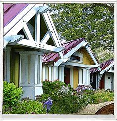 Tiny House Village closeup