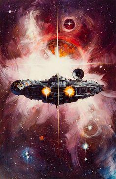 La Guerra de las Galaxias.