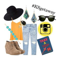 """""""#KSgetaway travel outfit inspiration!"""" by kendrascott on Polyvore We can make this look happen for you at either store. Come in and let us show you."""