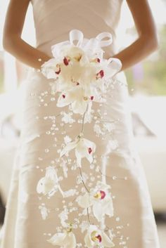 Wedding Bouqet...liking the look and illusions but with different flowers