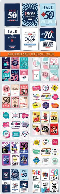 Set vector vintage labels Vintage labels, Tag templates and - sale tag template