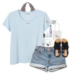 """""""summer"""" by soprepp ❤ liked on Polyvore featuring Monki, Alex and Ani, Adina Reyter, Steve Madden, Christian Dior, Essie and NARS Cosmetics"""