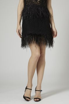 Limited Edition Feather Lace Pelmet Skirt