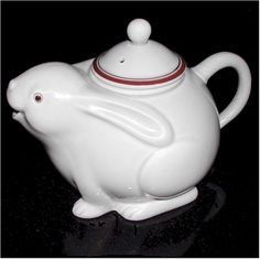 Image detail for -fitz and floyd teapot, 1970's.