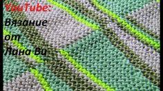 Вязание спицами: соединительные швы - 5 МК. Топ-майка спицами, невидимый...