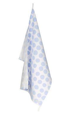Into the Blue 2, white/blue dishtowels 2/17.00 Euro.  Kurage, Denmark.