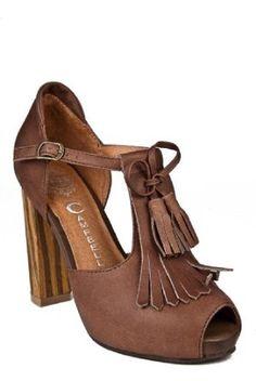 Jeffery Campbell Ripple High Heel Shoe.  Cutie!