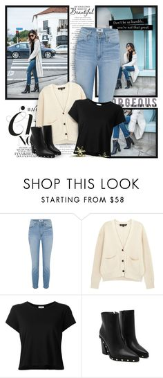 A fashion look from March 2018 featuring crewneck tee, striped ribbed top and super skinny ripped jeans. Browse and shop related looks. Super Skinny Ripped Jeans, Paige Denim, Proenza Schouler, Fashion Looks, Tees, Polyvore, Stuff To Buy, Outfits, Shopping