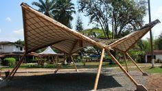 Estructuras tridimensionales en Bambú