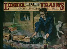 Lionel Trains catalog cover 1925