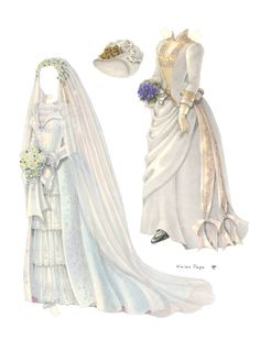 Wedding of the Paper Dolls by Helen Page, 1990, page 3 of 6