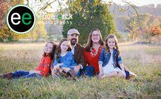 Fall Family Portrait #ericaerckphotography #outdoor #naturallight #fayetteville