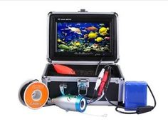 30m Professional Fish Finder Underwater Fishing Video Camera 7″ Color HD Monitor