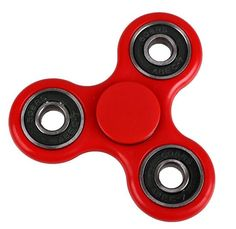 Hand Fidget Spinner Rood - High Quality Lagers