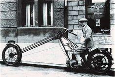 Des de quan hi ha choppers?! - Ruote Rugginose: Old School Chopper from 1910