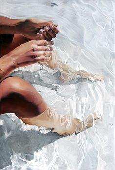 painting under water ; ). by josep moncada (via AlexandraInspire.tumblr 54612492694)
