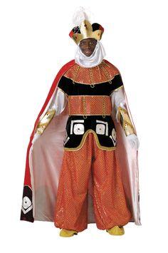 Disfraz rey mago Baltasar