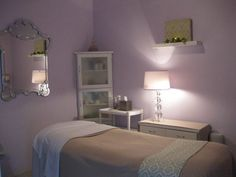 Petite Spa . 723 Broadway . Santa Monica . CA . 90401 || day spa || massage therapy room || esthetician room || aesthetician room || esthetics || skin care || body waxing || body scrub || body treatment room