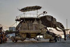 The Homes at Burning Man -http://contentinacottage.blogspot.com/2011/05/best-of-burning-man-art-on-acid-wacky.html