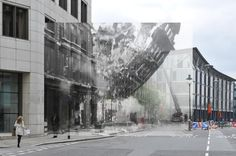 This app allows tourist in London to view historic photos when they are walking around town