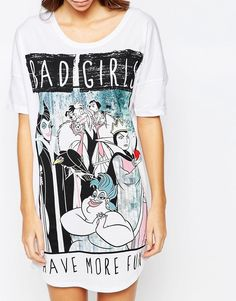 Missimo Disney Bad Girls Have More Fun Nightshirt
