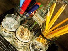 DIY Desk Organizer {Teacher Appreciation Ideas}