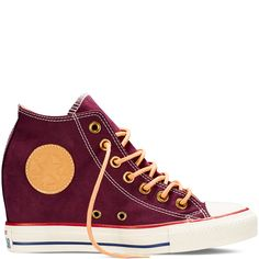Chuck Taylor All Star Lux Peached Canvas Black Cherry black cherry