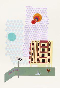 Cul de Sac, by  Michelle Weinberg - 20x200.com