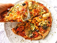 Bezlepková Pizza, Mozzarella, Vegetable Pizza, Gluten Free, Vegetables, Food, Fitness, Diet, Glutenfree