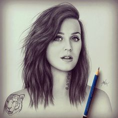illustration katy perry