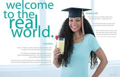 Welcome to the real world by Reliv International, via Flickr #reliv #nutrition