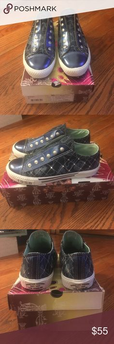 RARE Christian Audigier RARE CHRISTIAN AUDIGIER SHOES! No longer sold, only worn 2 times max. Brand new condition, absolutely nothing wrong with them. NO TRADES! 🅿️🅿️ accepted! Not adidas, did for views! Adidas Shoes Sneakers