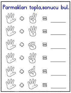 Missing Number Worksheet Pdf easy and printable Kindergarten Addition Worksheets, Preschool Number Worksheets, First Grade Math Worksheets, Numbers Preschool, Preschool Learning, In Kindergarten, Math Activities, Math For Kids, Missing Number