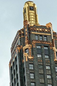 """""""Carbide and Carbon Bldg""""  Click the """"pinned from"""" link to purchase this print."""